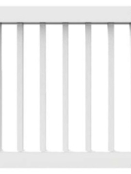 "36"" x 36"" White Rail Gate Kit"