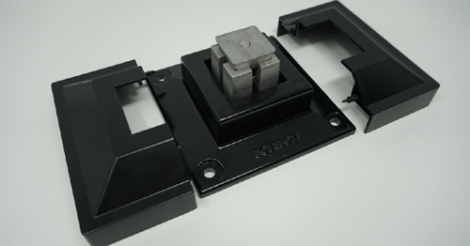"2"" Surface Mount & Cover G2 Black"