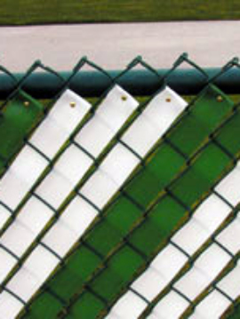 Privacy Fence Weave  Black