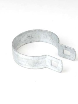 "Commercial Brace Band Beveled. 2 1/2"" Galvanized"