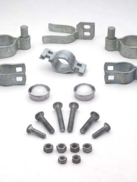 Residential Single Galvanized Gate Hardware