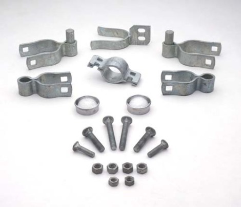 Residential Double Galvanized Gate Hardware