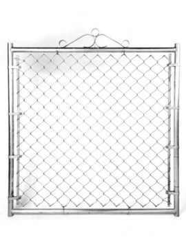 "Residential Single Gate - 48""W X 60""H X 1 3/8"" Galvanized"