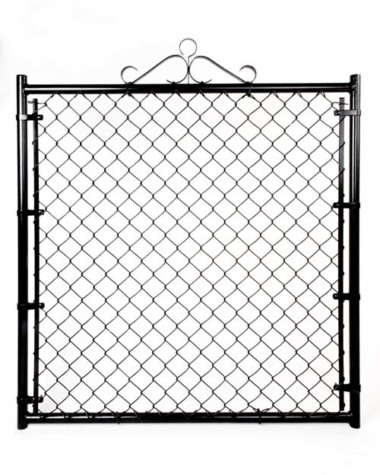 "Residential Single Gate - 48""W X 48""H X 1 3/8"" Color"