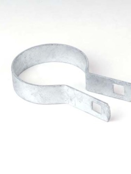 "Residential Tension Band Plain 2 1/2"" Galvanized"