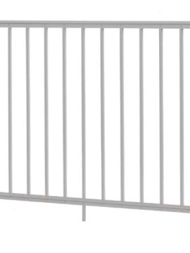 "Midway Railing Section - 36"" H x 6' W  White"