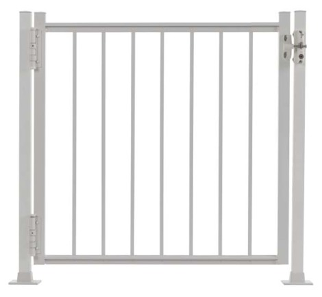 "Summit Railing Gate - 42""H x 48""W White"