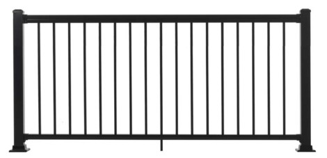"Summit Railing Sections - 36""H x 6'W Black"