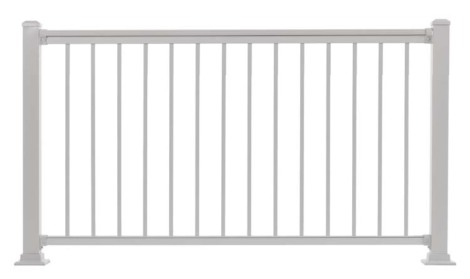 "Summit Railing Sections - 36""H x 5'W White"