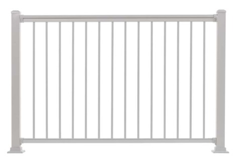 "Summit Railing Sections - 42""H x 5'W White"