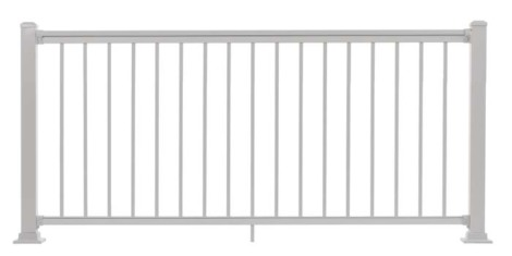 "Summit Railing Sections - 36""H x 6'W White"