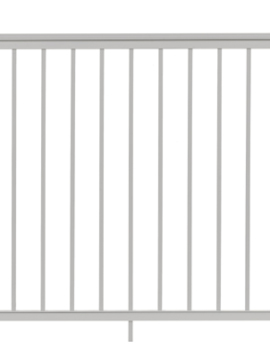 "Summit Railing Sections - 42""H x 6'W White"