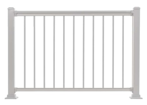 "Summit Railing Sections - 36""H x 4'W White"