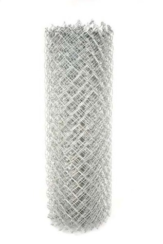 "Residential Chain Link Fabric 48"" High"