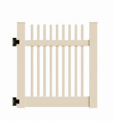 "4'x58"" Baltimore Walk Gate Beige"