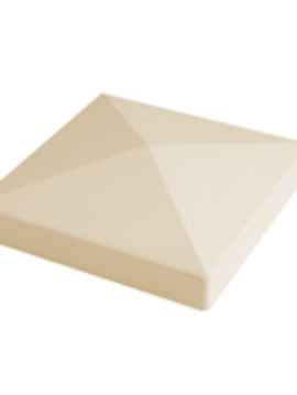 "5""x5"" Pyramid Post Top Beige"