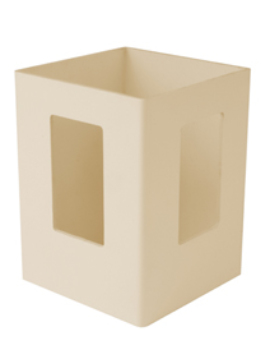 "5""x5""x84"" Picket  Corner Post Beige"