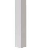 "Posts - 2 1/2"" x 60"" H square with no flange White"