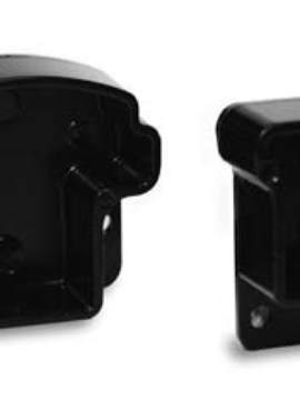 Summit Wall or Post Fitting 1 pkg/rail  Black