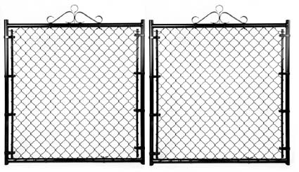 "Residential Double Gate - 10'W X 42""H X 1 3/8"" Color"