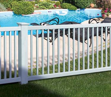 Hopewell Pool Fence. 22 Sections 4' H x 8' wide Complete W/ Gates and Posts